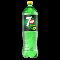 Напиток безалкогольный 7 UP со вкус. лайма и мяты сильногаз. ПЭТ (Россия) 1.5L
