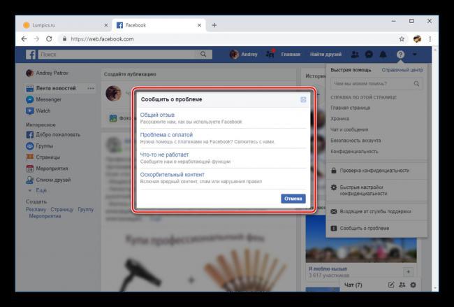 Vyibor-tipa-problema-na-sayte-Facebook.png